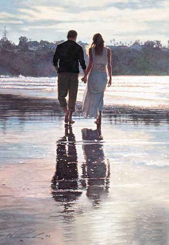 Steve Hanks - Living the Dream, OPEN EDITION PRINT -  UNSIGNED Published by the Greenwich Workshop