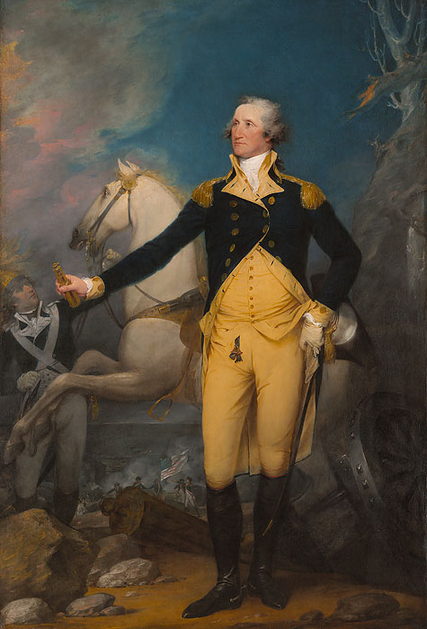 John  Trumbull - General George Washington at Trenton -  OPEN EDITION CANVAS Published by the Greenwich Workshop