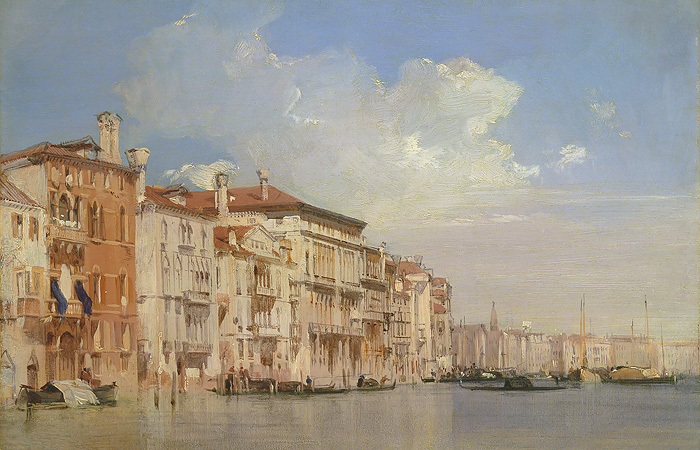 American Museum Collection - Grand Canal, Venice -  OPEN EDITION CANVAS Published by the Greenwich Workshop