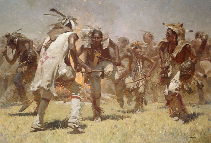 Native american in the revolutionary war
