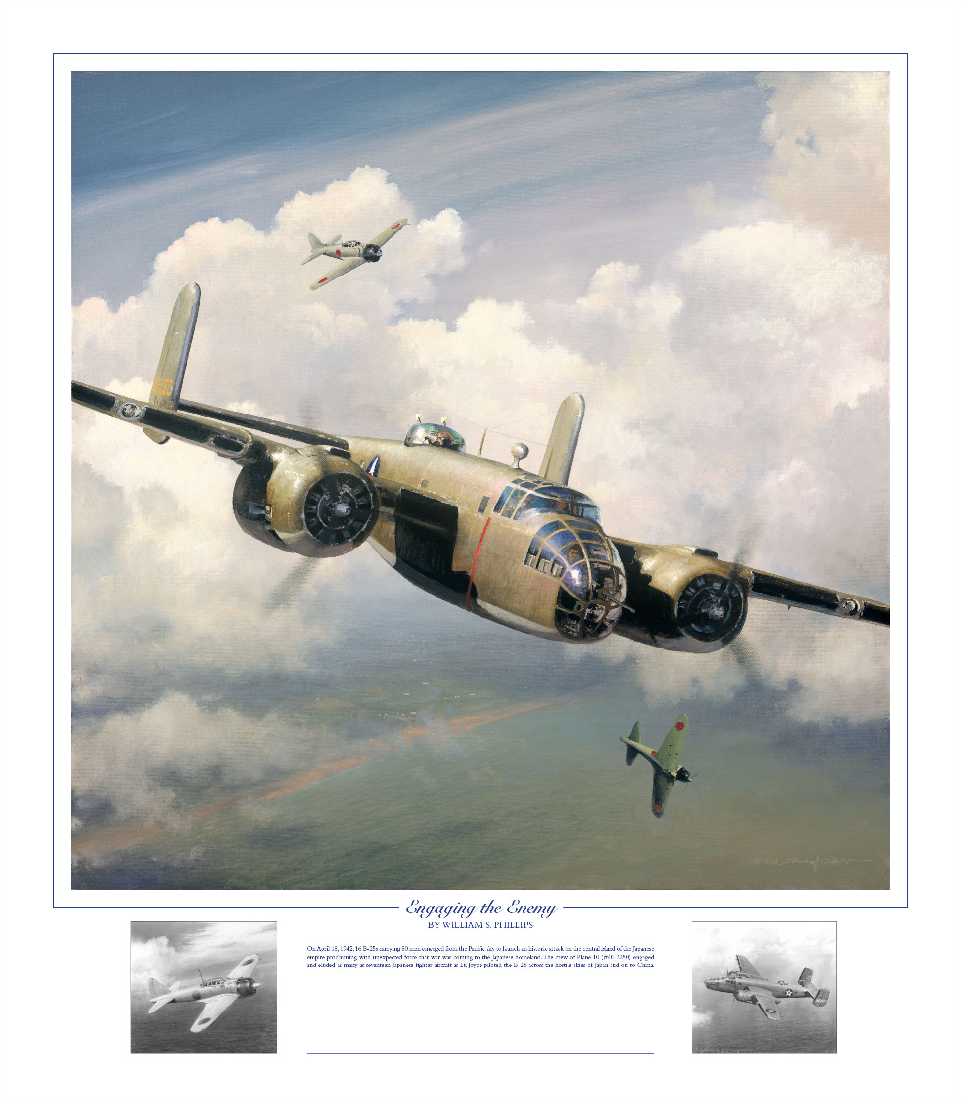 william s phillips doolittle raiders art prints and canvases