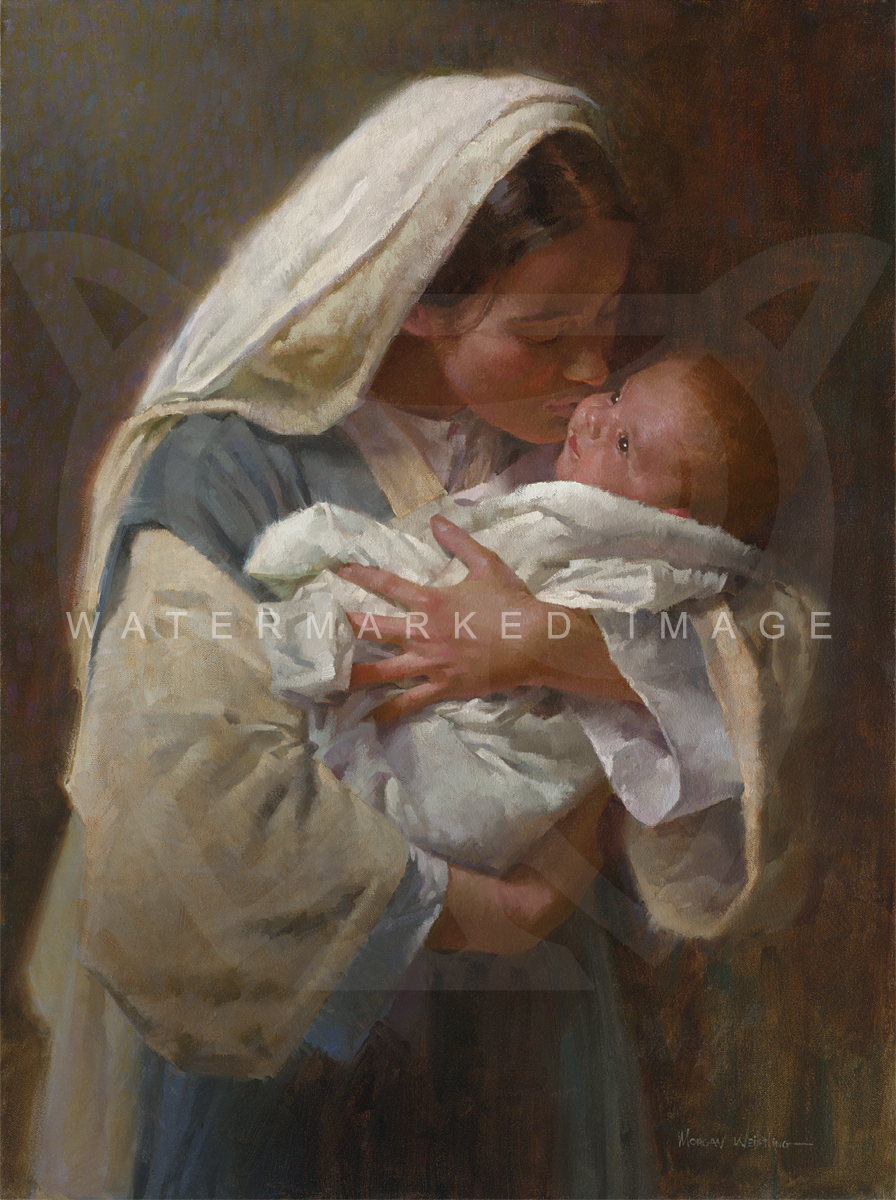"""/""""Water To Wine/"""" Morgan Weistling Open Edition Giclee Canvas"""
